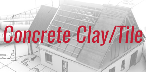 Residential Roofing Services Concrete Clay Tile